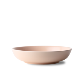 TUBE LARGE BOWL_peach pink